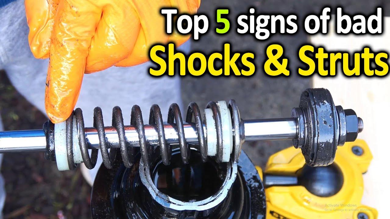 Good Shocks Vs Bad Shocks : 5 Ways To Tell