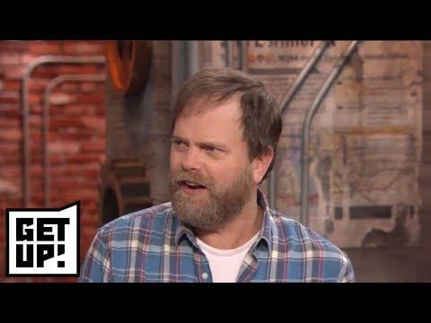 Rainn Wilson vets Ryen Russillo's 'The Office' Pam conspiracy theory | Get Up! | ESPN