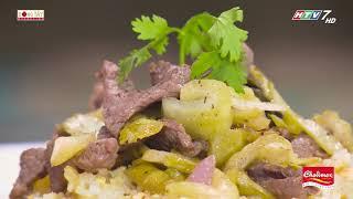 Cách chế biến món Cơm rang  dưa bò theo công thức của đầu bếp Vũ Dino   Khi Chàng Vào Bếp - Mùa 2