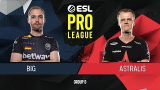 CS:GO - BIG vs. Astralis [Dust2] Map 1 - Group D - ESL Pro League Season 9 Europe