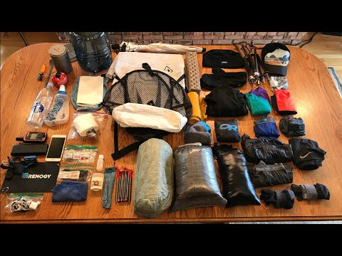 How I Packed My JMT Pack (w/ Bear Canister)
