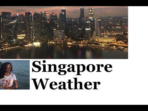 Singapore Weather / When To Visit Singapore / Singapore Rain / Hindi Video With English Subtitles