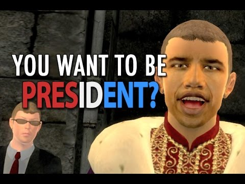 WAT. YUO WANT TO BE PRESIDENT?