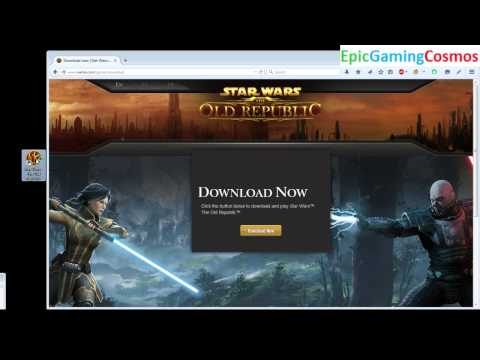 Tutorial For How To Download And Install Star Wars The Old Republic / SWTOR On The Computer