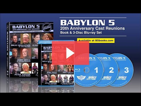 On Blu ray BABYLON 5 Reunion TRAILER ★★★★★