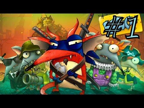 Крысы Онлайн - #1 Обзор игры и первые победы:) Игра как мультик, смешное видео, lets play.