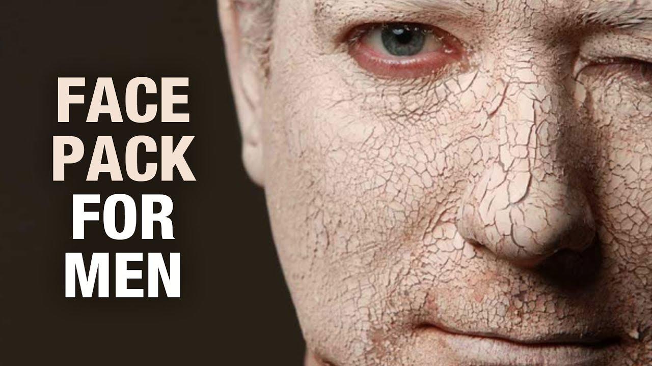 Homemade Face Pack for Men - Dr. Divya - Beauty Tips