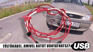 Termékteszt: Töltőkábel, amivel autót vontathatsz?