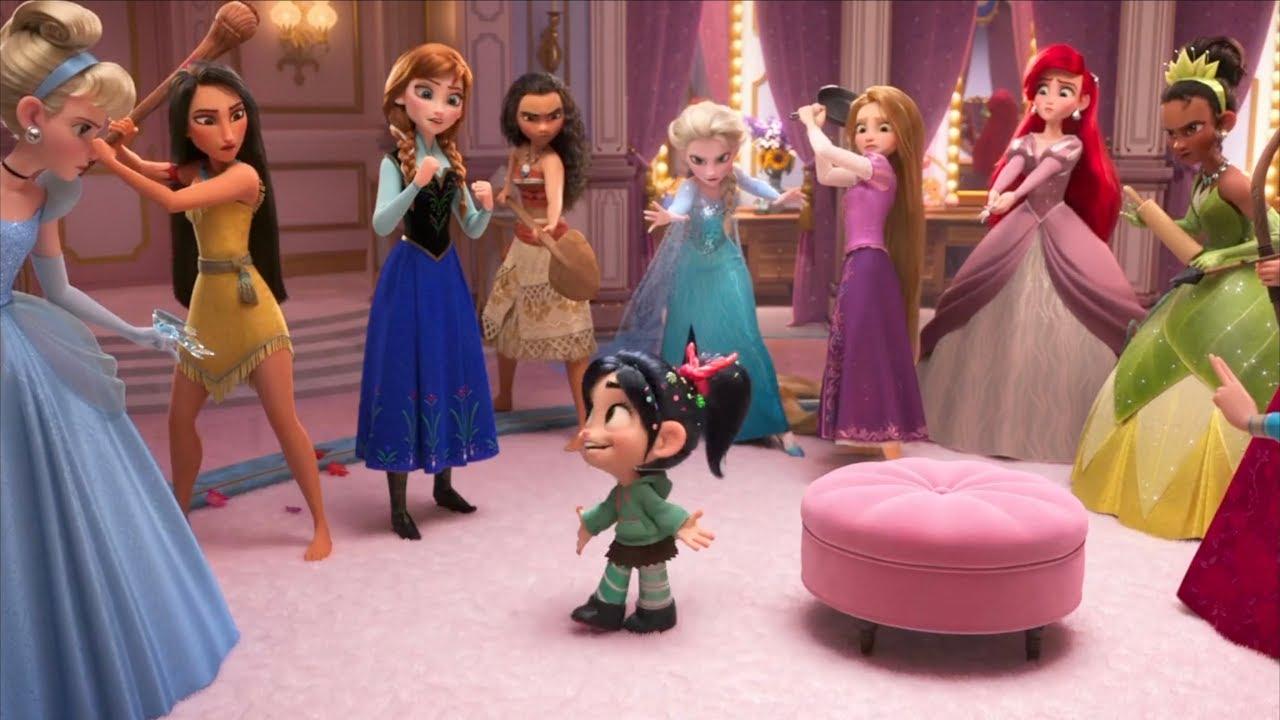 Download Vanellope meets Disney Princesses | Wreck-It Ralph 2: Ralph Breaks the Internet  | Animated Stories