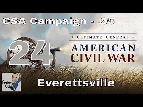 THE EVERETTSVILLE MASSACRE - Ultimate General: Civil War - CSA Campaign #24