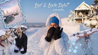 LIVING IN GLASS IGLOOS!! Leviniglut & Levi