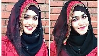 Hijab style using DUPPATA with salwar kameez for party