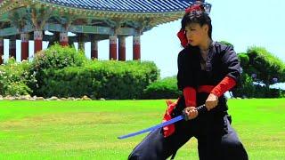 Samurai Girl  Katana Practice - PeiPei Alena