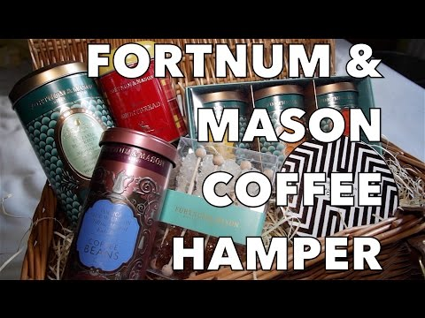 Fortnum & Mason Coffee House Hamper Review
