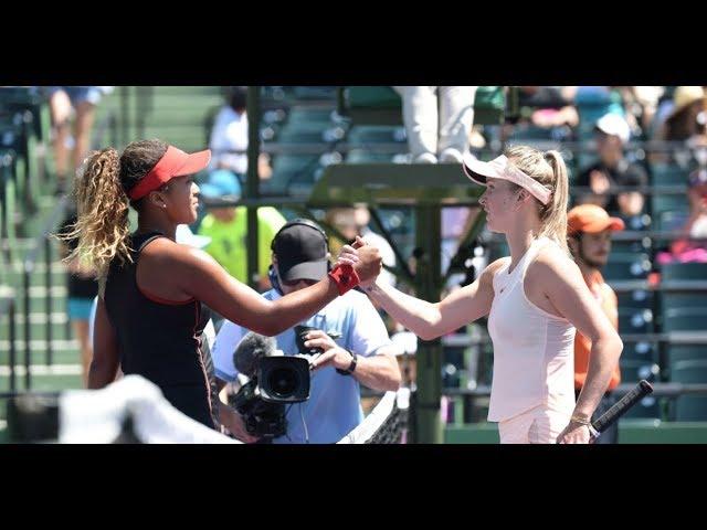 2018 Miami Second Round | Naomi Osaka vs. Elina Svitolina | WTA Highlights