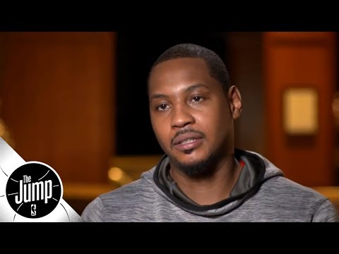 Carmelo Anthony on joining title-caliber Rockets: 'That gives me a different focus' | The Jump