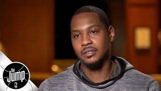 Carmelo Anthony on joining title-caliber Rockets: 'That gives me a different focus'   The Jump