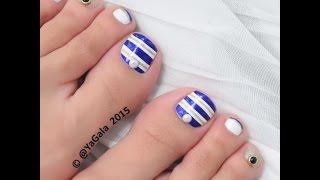 Toe Nail art / Педикюр (дизайн)
