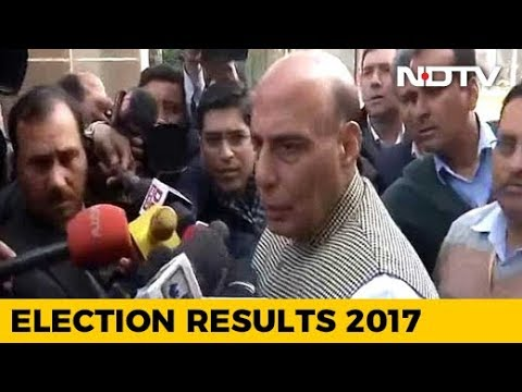 BJP Will Form Government With Majority In Gujarat, Himachal Pradesh: Rajnath Singh