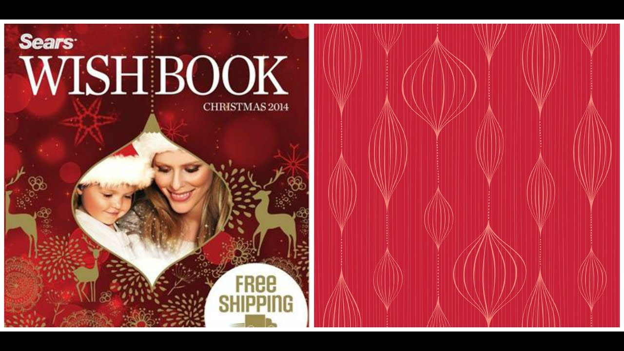 sears christmas commercial catalogue 2014 vlog 267 - Sears Christmas Catalog