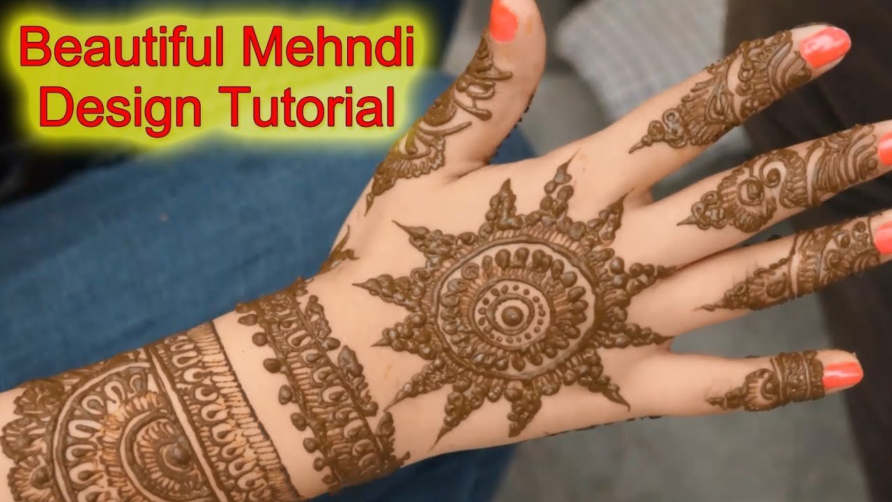 Latest Full Hand Henna Mehndi Designs For Hands Mehndi Designs