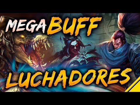 BUFF ENORME a los LUCHADORES | Noticias League Of Legends LoL