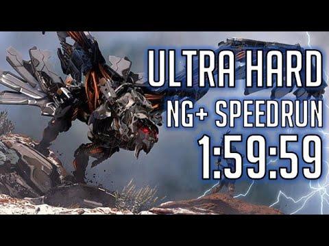 Horizon Zero Dawn Speedrun: Any% NG+ (Ultra Hard) in 1:59:59 [World Record] thumbnail