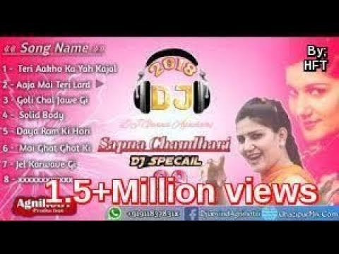 New haryanvi hard mix nonstop dj song-2018
