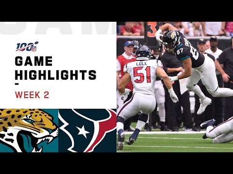 Jaguars vs. Texans Week 2 Highlights | NFL 2019
