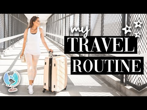MY TRAVEL ROUTINE // HOW I TRAVEL EFFICIENTLY ♡