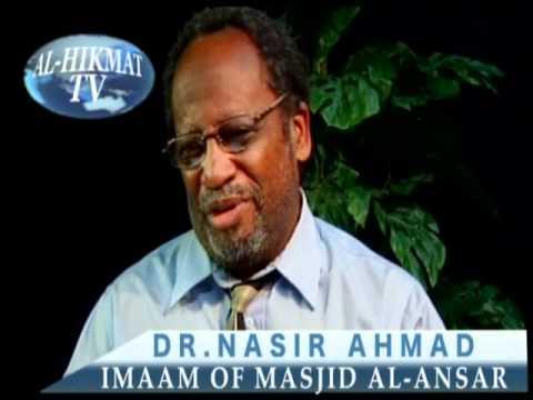 INTERFAITH VIEWS & ISSUES: DR. NASIR AHMAD (IMAAM OF MASJID AL-ANSAR)