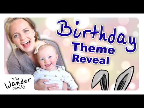 Juniper's First Birthday Theme Reveal!!! + Haul