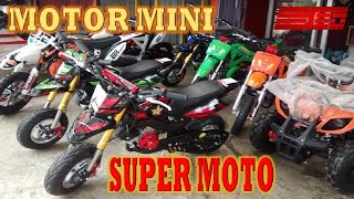 Motor Mini Trail Super Moto All New 50 CC 2 Tak Depok