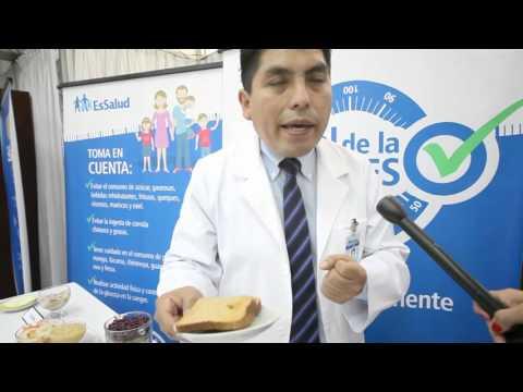 EsSalud presentó alternativas de menú para diabétes