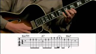 Jazz Licks in a Minor Key Guitar Lesson @ GuitarInstructor.com (preview)