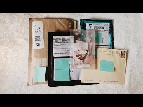 |BTS Unboxing Haul 02| - Enamel Pins, Washi tapes, PCs
