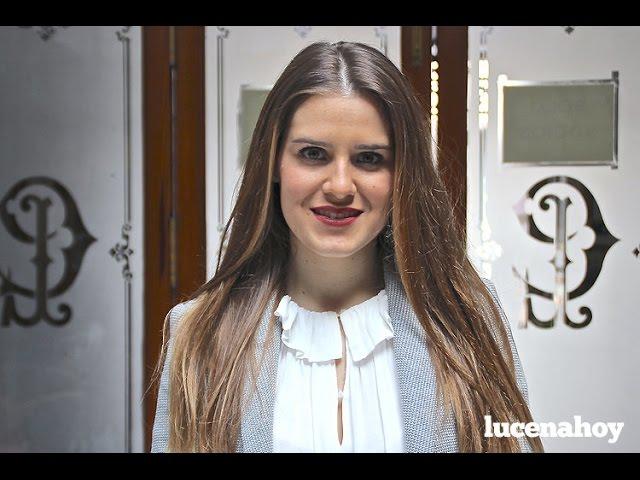 Vídeo Noticia: Primeras declaraciones de Araceli Muñoz Ruz, Aracelitana Mayor 2016, tras su elección