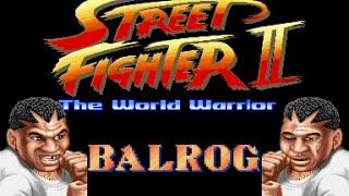 Street Fighter II World Warrior - Balrog