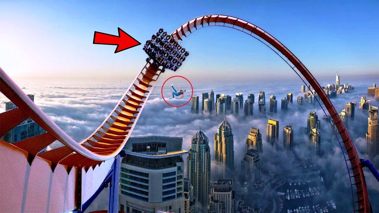 दुनिया के 5 सबसे खतरनाक झूले Most dangerous roller coaster in the world