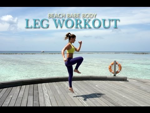 Beach Babe Body - LEG WORKOUT - Carolina B