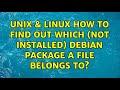 Debian Package Management #1 - APT Basics - YouTube