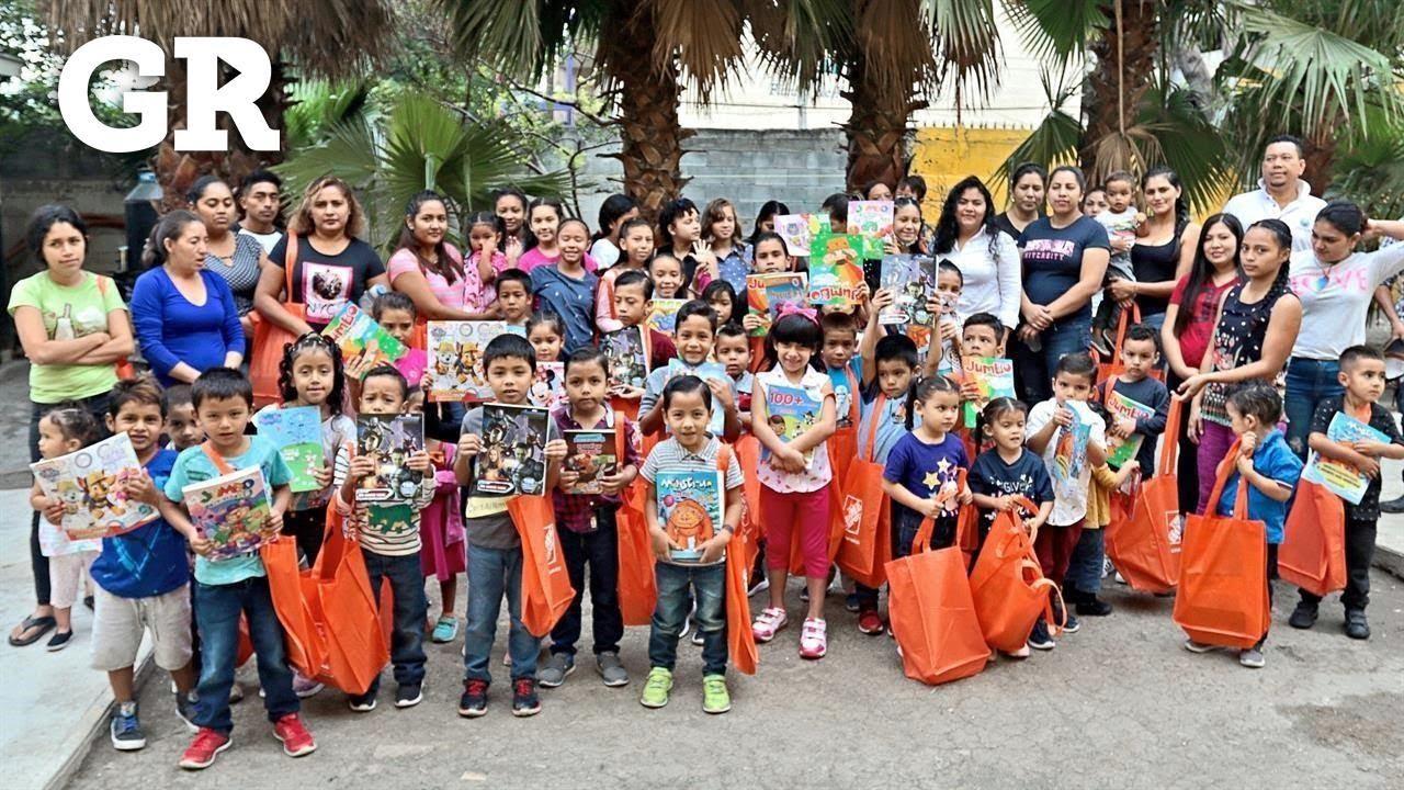 Gran festejo para niños migrantes