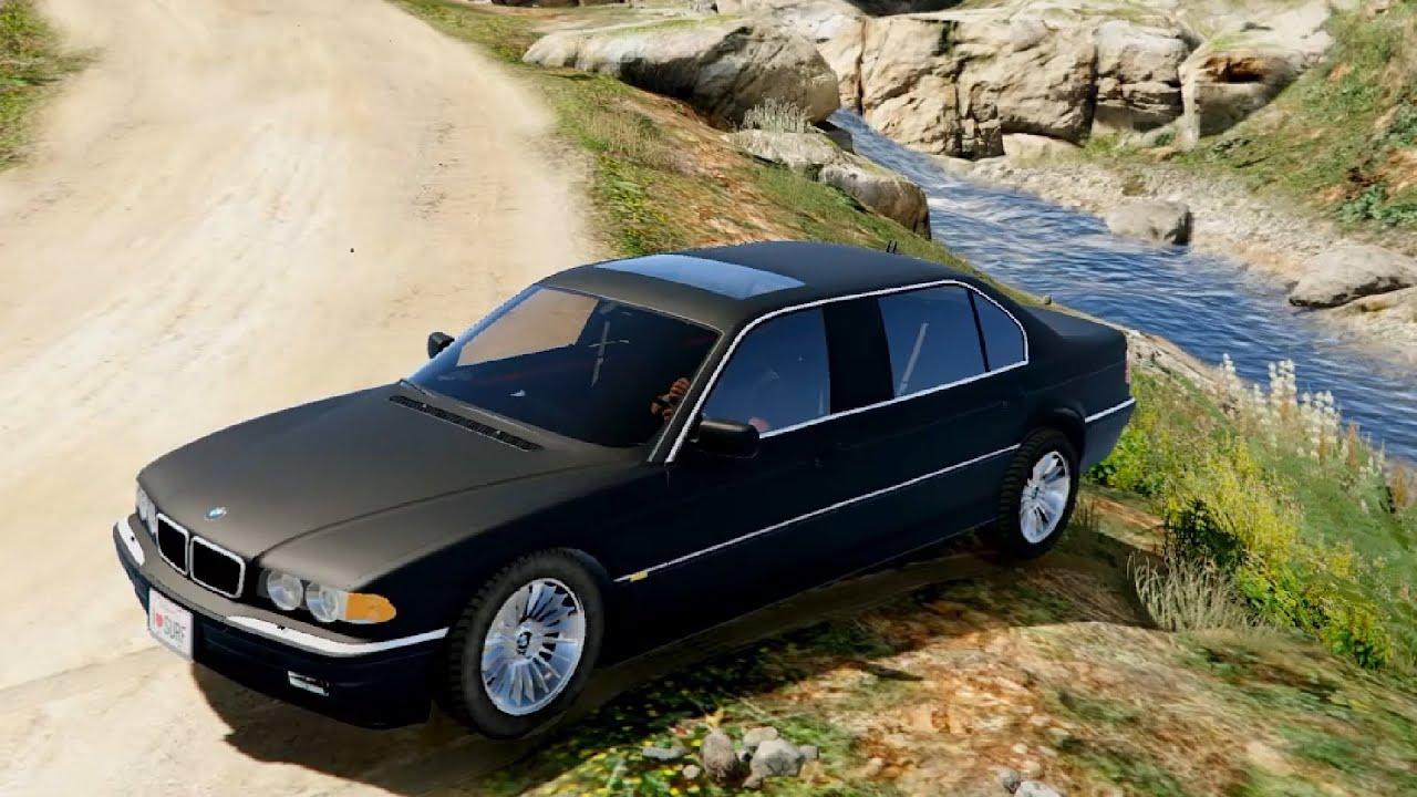 BMW L7 750IL E38 - GTA V - YouTube