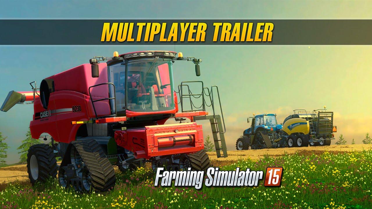 Farming Simulator 15 Consoles: Multiplayer Trailer