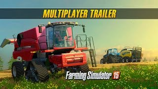 Farming Simulator 15 Consoles: Multiplayer Trailer