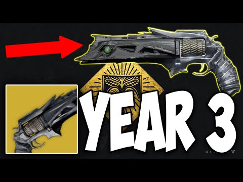 Rise of Iron How to Get YEAR 3 THORN !! (Destiny Year 3 Thorn)