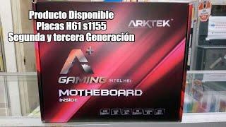Motherboard Arktek H61 (s1155) 100% confiables