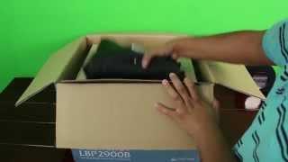Unboxing Of LaserShot LBP 2900B [ Canon LaserPrinter ]