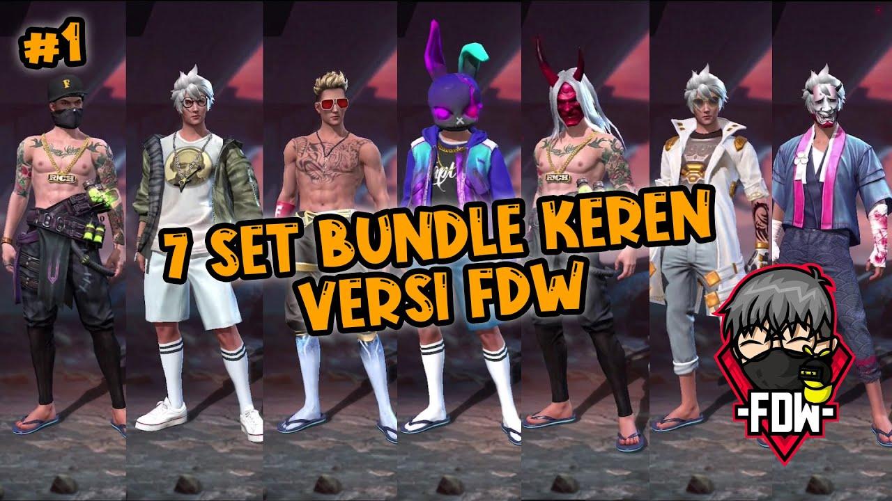 7 Set Bundle Keren Cowok Versi Fdw Part 1 Efdewe Youtube