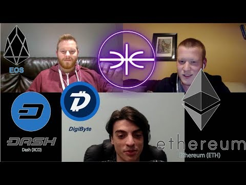 Why Ethereum! Smart Contract With Blockchain Art Exchange! Dash! Eos! Tron! Digibyte! #Podcast 18